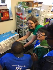 Boys at Tulane in STEM –